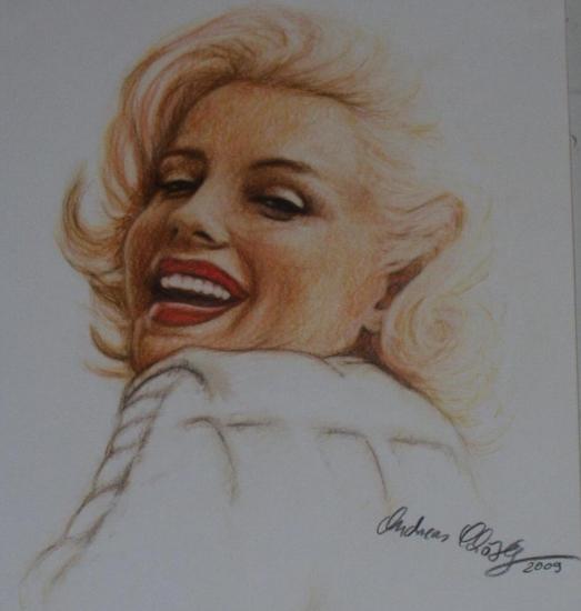 Marilyn Monroe by Andii